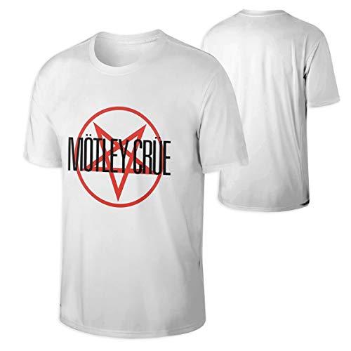 Motley Crue Shout at The Devil Comfortable Men's Tops Short Sleeve Tshirts L White