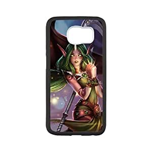 League of Legends(LOL) Soraka Samsung Galaxy S6 Cell Phone Case White VBS_3705012
