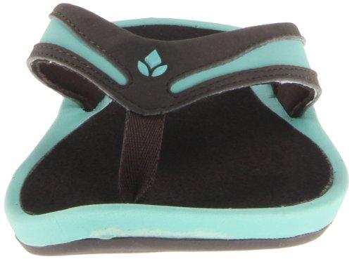 femme Brown Aqua Reef pour Bleu Sandales xzwqxTESa0