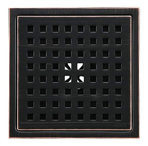 6-inch Shower Drain Square