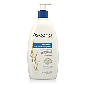 Aveeno Active Naturals Skin Relief Moisturizing Lotion for Sensitive Skin, 18 fl. oz