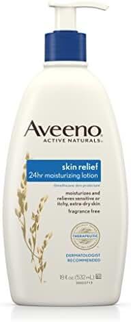 Aveeno Skin Relief Moisturizing Lotion for Sensitive Skin, 18 Fl. Oz