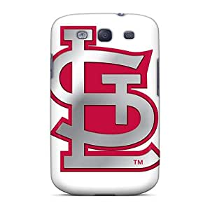 JoanneOickle Samsung Galaxy S3 Perfect Cell-phone Hard Covers Unique Design High Resolution St. Louis Cardinals Pattern [JPV19914OcNb]
