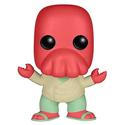 Funko POP TV: Futurama - Zoidberg Action Figure: Funko Pop! Television:: Toys & Games