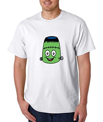 Sweet Emoji T-shirt Halloween Edition Frankenstein Monster Shirts 3XL White em 2 -
