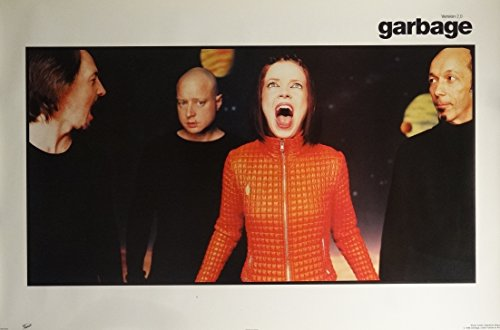 Garbage Group Music Poster 1998 Shirley Manson