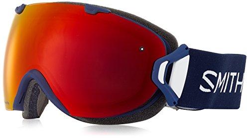 SMITH OPTICS I/OS Ski- Snowboardbrille NAVY MICRO FLORAL - ChromaPOP Red Mi NEU by Smith Optics
