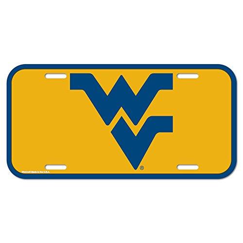 WinCraft NCAA West Virginia University License Plate