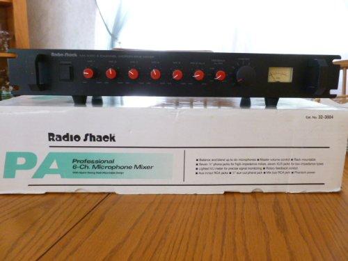 Radio Shack Mx-1000 Professional 6-ch. Microphone Mixer