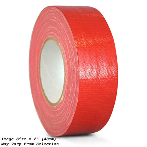 WOD CDT-36 Advanced Strength Industrial Grade Red Duct Tape, Waterproof, UV Resistant For Crafts & Home Improvement (Available in Multiple Sizes & Colors): 3 in. x 60 yds. (Pack of 1)