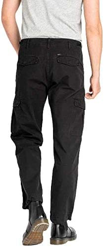 Lee Fatigue Pantalon Relaxed pour homme Noir