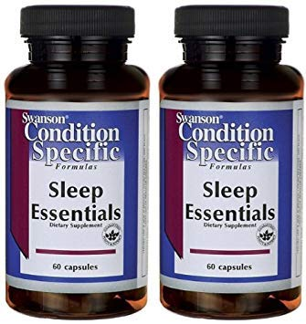 Swanson Sleep Essentials -- 2 Bottles each of 60 ()
