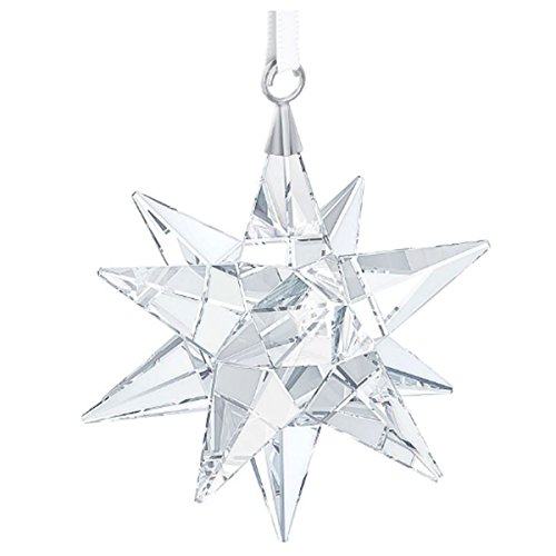 Swarovski 3D Star Ornament Clear Crystal Christmas Tree Ornament Deal (Large Image)
