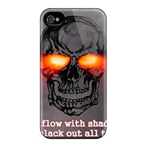 Protective Cell-phone Hard Covers For Iphone 4/4s (xPy12119yekW) Unique Design Trendy Avenged Sevenfold Band A7X Series