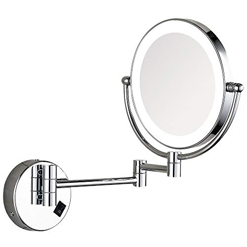 Wall Mounted Lighted Vanity Mirror Led in US - 8