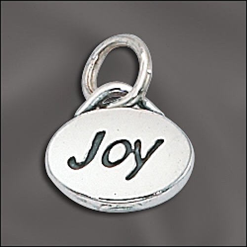 Charm -JOY Message Charm .925 Sterling Silver ()