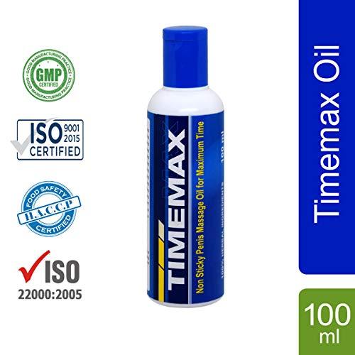 Shivalik Timemax Massage Oil (Premature Ejaculation) 100 ML Bottle Pack (Best Oil For Premature Ejaculation)