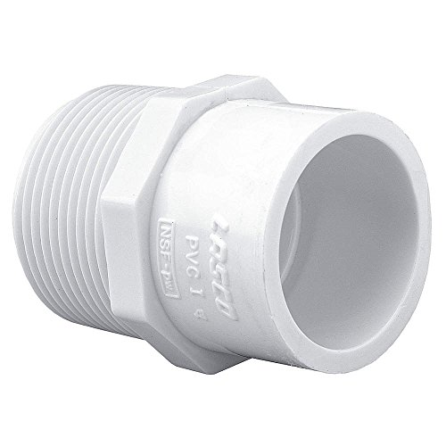 Sch 40 Slip - Schedule 40 PVC Pipe Mipt x Slip Reducing Male Adapter (1