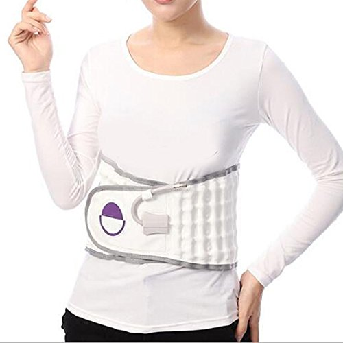 Denshine Spinal Massager Physio Decompression Back Belt Air Traction Waist Brace Lumbar Support Back Massage for Back Pain Relief Pain Lower