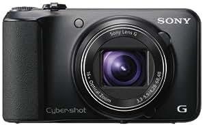 Sony Cyber-shot DSC-H90 Digital Camera (Black) + 8GB SDHC Memory Card