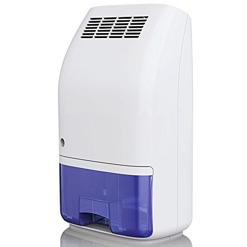 -[ Dehumidifier 700ml Ultra Quiet Portable Mini Dehumidifier Home Office Damp Mould Moisture Absorb
