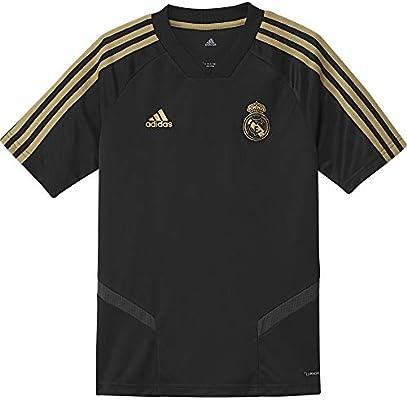 new product 1266b 2dcaa adidas Unisex Baby Real Madrid Training Youth Jersey, Black ...