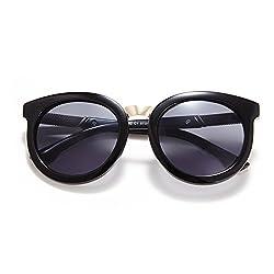 Sombosin UV Protection Metal Sunglasses for Women Polarized Wayfarer Sunglasses