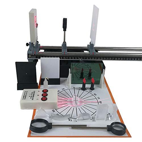 Óptica Física Conjunto De Experimentos De Lentes Principio De Imagenología Banco Óptico Línea Recta De Luz Física...