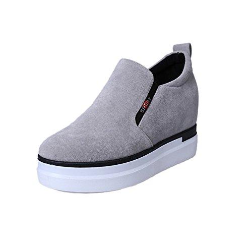 Zapatos de suela gruesa plataforma caída/Calzado deportivo y ocio A