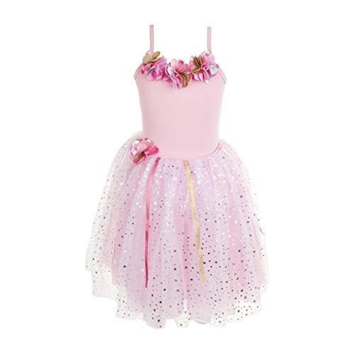 - Pink Poppy Festive Fairy Petal Dress Size 5/6- Pink