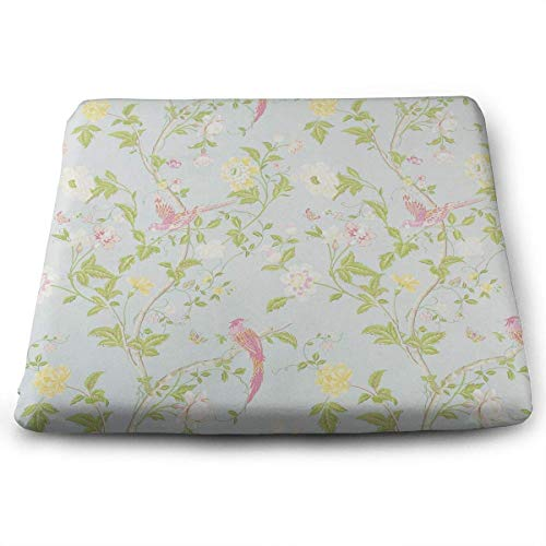 - Seat Cushion for Office Chair, Cozy Ashley Floral Car Seat Cushion/Square Chair Pad for Truck Driver,Kitchen Chairs,Car,Office