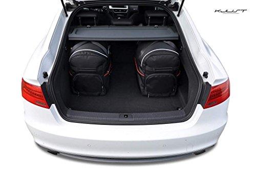 AUTO-TASCHEN MASSTASCHEN ROLLENTASCHEN AUDI A5 5D SPORTBACK, 2007- CAR-BAGS - KJUST