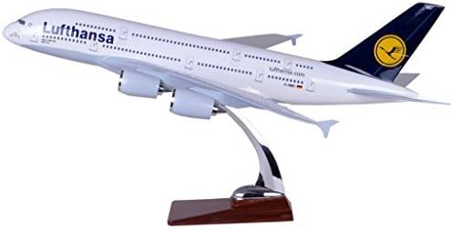 TANG DYNASTY 47CM ルフトハンザドイツ航空 Lufthansa Airlines エアバス A380 高品質樹脂