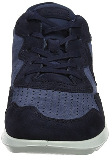 Ecco Genna, Sneakers Basses Femme Bleu (Night Sky/ombra 51030)