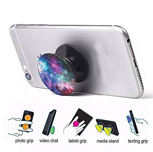 Jayon-Supporto per Presa e Impugnatura Pop per Smartphone e Tablet-Nero