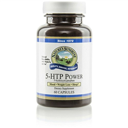 """5-HTP Power, 60 Capsules, 35 mg each, TOTAL 4 BOTTLES, SAVING PACK, """"FAST SHIPPING"""" For Sale"""
