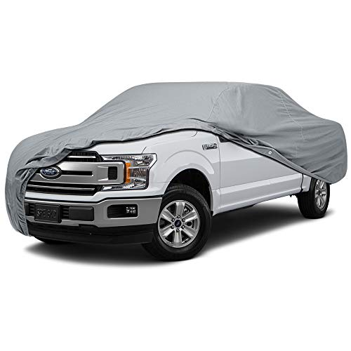 5 Layer Semi Custom Full Coverage Truck Car Cover for Chevrolet Truck 1950 1951 Standard Cab Pickup 2-Door Short Bed ()