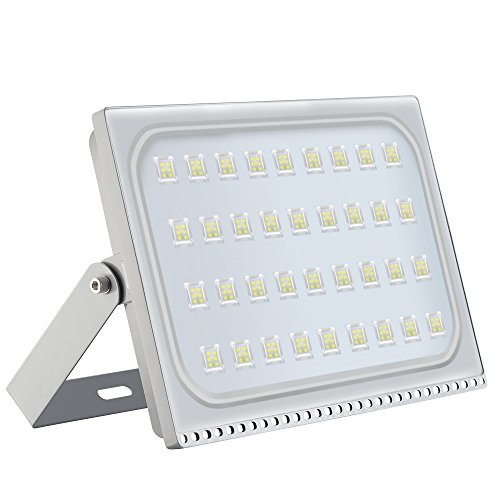 LED Flood Light Chunnuan, 200W,17000LUMEN 6000-6500K (Cold White), IP65 Waterproof,Outdoor Security Lights Garden Landscape Spot Lamp Super Bright Floodlight 110v