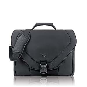 Solo Active 17 Inch Laptop Messenger Bag, Black