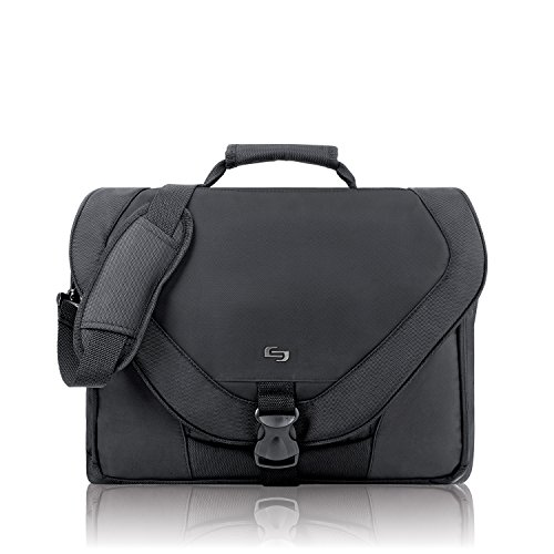 Solo Computer (Solo Active 17 Inch Laptop Messenger Bag, Black)
