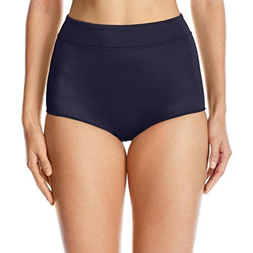 Warner's Women's No No Pinching No Problems Modern Brief Panty, Evening Blue, 7