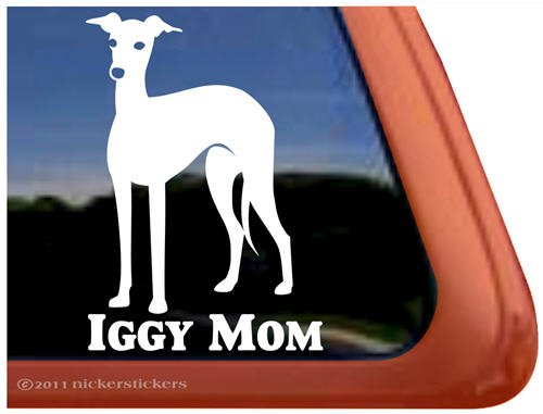 Italian Greyhound Vinyl Window Sticker