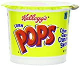 pops corn - Kellogg's Corn Pops Cereal, 1.5-Ounce Cups (Pack of 12)