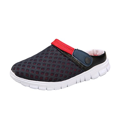 Red Sandals Breathable Shoes Mesh Hollow Net Slippers Summer Beach Meijunter Out Blue Rpw7qO