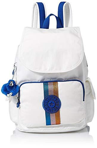 Kipling Women's City Pack Medium, Adjustable Backpack Straps, Zip Closure, lacquer pearl