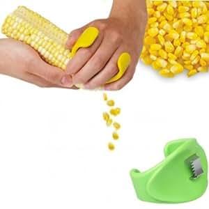 BoatShop ABS Plastic Stainless Steel Manual Corn Peeler