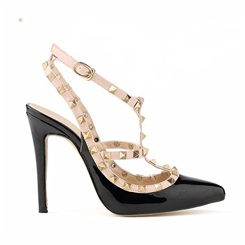 iPretty Women Ladies Sexy Low Mid High Heels Pointed Toe Platform Pumps Stiletto Sandal Shoes Court Party Shoes Smart Office Work Court Shoes Size 3 4 5 6 7 8