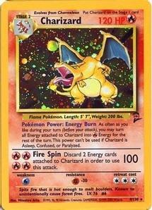 Charizard - Basic (Base Set) 2 Pokemon Card 4/130 - 4 Base Set