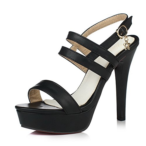 Para 1to9 Sandalias Mujer Vestir De Negro 0Ztxx6qPw