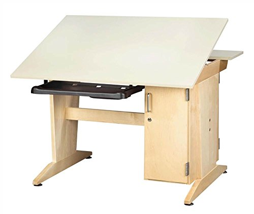 (Shain Graphics Drafting Table w Keyboard Tray)